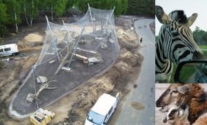 Çelik Halatlı Güvenlik Ağı, Hayvanat Bahçeleri İçin