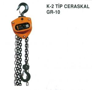 K-2 Tip Grade 8 Zincirli Vitali Ceraskal