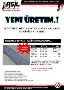 Pvc-Kablo-Kanali-40x40 40X25